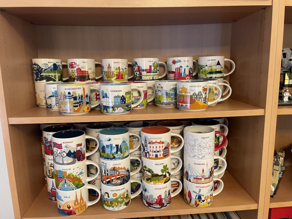 Phils mug starbucks you are here mug collection